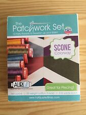 Aurifil thread Patchwork Set 10 50 Weight Cotton Thread Set 220 Yards Spools