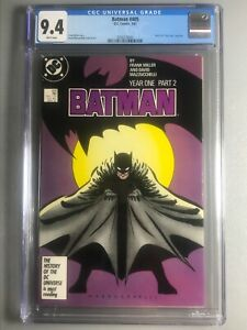 Batman 405 - CGC 9.4 - 1st App of Carmine Falcone - White Pages - Purple Cover