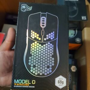 SEALED Glorious PC Model O Wireless 69g Lightweight RGB Gaming Mouse - Black