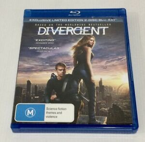 Divergent Blu-Ray Exclusive Limited Edition 2 Disc Set