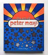 PETER MAX signed autograph book 1ST PRINTING