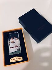 USB Chargeable Electric Lighter with you photo or image personalised silver