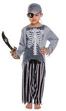 Zombie Pirate Boy Costume Kids Halloween Captain Jack Fancy Dress Small 4 5 6 YR