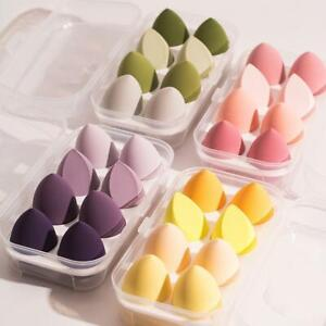8pcs/set Beauty Make Up Puff Blender Foundation Sponge Egg Shape Hot Sale