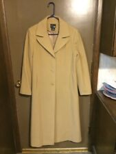 East 5th Long Wool Tan Ladies Winter Coat Sz 10