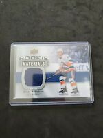 19-20 UD SERIES 2 ROOKIE MATERIALS JERSEY NEW YORK ISLANDERS OLIVER WAHLSTROM!