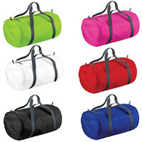 Bagbase bg150 Ultra light Duffel Barrel Bag Water Resistant Gym School 6 colours