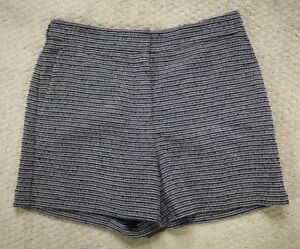 Ann Taylor Knit Shorts Women's Size 2 Gray Blue Lined