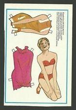Siw Malmkvist Vintage Scarce Paper Doll
