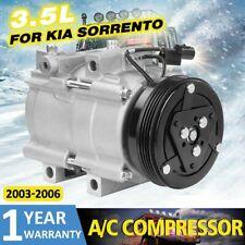 A/C Compressor CO 10822C for Kia Sorento V6 3.5L DOHC 2003- 2006 611040243984 US