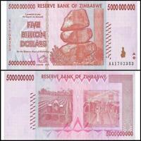 2007 Zimbabwe 1000 Dollar Bank Note-UNC Cond-18-382