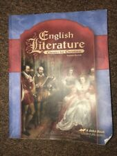 Abeka ENGLISH LITERATURE STUDENT TEXT-Book 11th 12th A Beka 4th Edition
