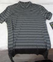 Nike Men's Dry Dri-Fit Stripe Golf Polo Shirt Top 890103-021 Many Sizes New
