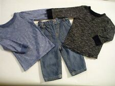 Boys' Denim Outfits & Sets without Pattern (0-24 Months)