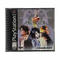 Final Fantasy VIII (PlayStation 1, 1999) Black Label Four Discs No Manual