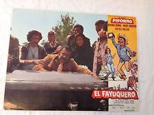 RARE VINTAGE MEXICAN MOVIE POSTER 1979 El Fayuquero Piporro Rafael Inclan