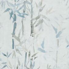 219463 - Sumi-E Bambou Bleu Galerie Papier Peint