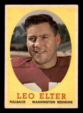 LEO ELTER 1958 TOPPS 1958 NO 25 VGEX+  22684