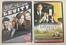 LOT of 2 DVDs (Playtested Kevin Kline Kirsten Dunst) The Emperor's Club & Levity