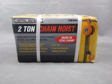 New In Box Central Machinery 2 Ton Chain Hoist Item# 00631