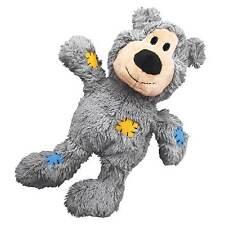 KONG Wild Knots Bear Reinforced Plush Squeaky Dog Tug Toy Choose Size Nkr3 Small/medium