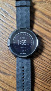 Suunto 9 Baro GPS Watch - Charcoal Black Titanium Excellent No Reserve