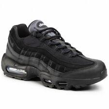Nike Air Max 95 Essential Hombre Zapatos Triple Negro UK 10.5 EU 45.5 nos 11.5 Nuevos Y En Caja