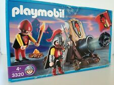 Playmobil 3320 *NEW* - Dragon Knights with canon (Sealed polybag, OVP)