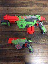 Nerf Disc Gun Set- Nerf Vortex Praxis And Nerf Vortex Proton- Nerf Toys- 4 Discs
