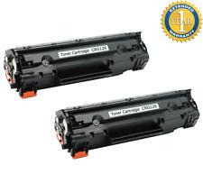 2PK Black Toner For Canon 126 128 CRG126 3483B001 ImageClass LBP6200d LBP6230dw
