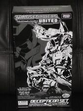 TAKARA TOMY Transformers United Decepticon Set 2010 Limited Edition