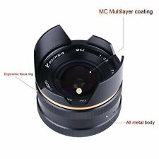 Kaxinda APSC 14mm f/3.5 manual focus lens for Fujifilm FX mount X-Pro2 E1 T10 T2