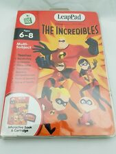 LEAPPAD DISNEY - THE INCREDIBLES - INTERACTIVE BOOK & CARTRIDGE