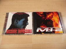 2 CD Set Soundtrack Mission Impossible 1 + 2 - Kult