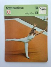 CARTE EDITIONS RENCONTRE 1979 / GYMNASTIQUE - WILLY MOY