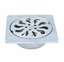 NEW Stainless Steel shower drain wetroom floor drain with remoavble trap10x10mm