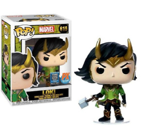 LOKI #615 FUNKO POP! VINYL FIGURE FREE COMIC BOOK DAY 2020 PREVIEWS EXCLUSIVE