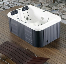 New Two 2 Person Hydrotherapy Bathtub Hot Bath Tub Whirlpool Jacuzzi SPA Sauna