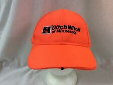 trucker hat baseball cap Ditch Witch Of Minnesota retro nice hunting light rare