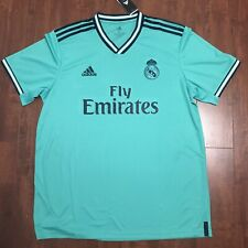 Adidas Real Madrid 19/20 Third Authentic Jersey Kit Green Size XL Men's MSRP$90