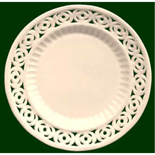 Royal Creamware Medallion Plates 7 inch (Pack of four)