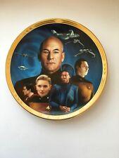 Star Trek Collector Plate next generation, Episodes Yesterday'S Enterprise Nib