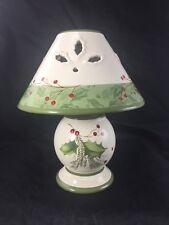 Lenox Holiday Gatherings Tealight Lamp no box *