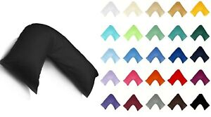 Non Iron Plain Dye V Pillowcase Pair
