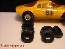 8 pneus AR  urethane GT Jouef
