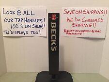 Becks Gun Metal Beer Tap Handle Metal