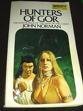 Hunters Of Gor By John Norman Daw SF UE1472 1974 Paperback