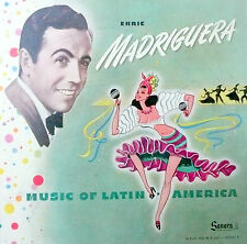 78 rpm album 4 records VG  /album:VG  ENRIC MADRIGUERA / LATIN AMERICAN MUSIC