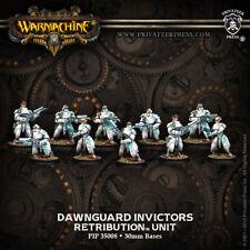 Warmachine: Retribution of Scyrah Dawnguard Invictors Unit PIP 35008 FREE SH