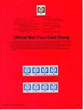 Estados unidos Documento 1º día año 1991 (BP-442)